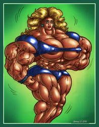 1808 More Muscles by Jennysartwork