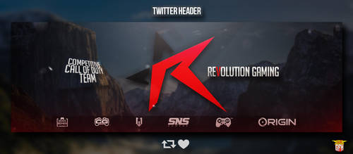 Twitter Banner Revolution Gaming by dczelda