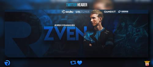 Twitter banner Zven by dczelda