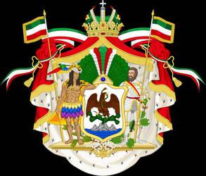 Grandes Armas del Glorioso Imperio Mexicano by osedu
