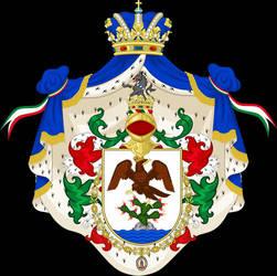 Escudo del Enperadr de Mxico - Casa Iturbide by osedu