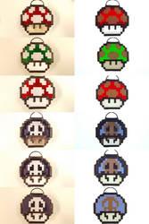 Mushroom Variations by DarkeVitrum