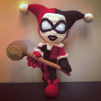 Harley Quinn (Crochet) by SirPurlGrey