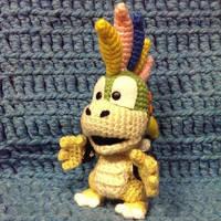 Lemmy Koopa (Crochet) by SirPurlGrey