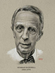 Norman Rockwell  by ArtofJefferyHebert