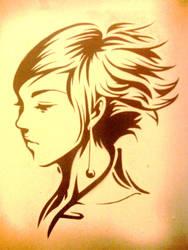 Pepper Profile Stencil by TFM-BLK