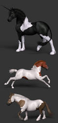 Tobiano Coat Patterns by AgentUnawares