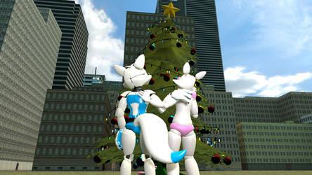Christmas tree by Mangle1195