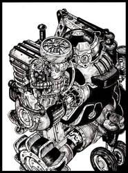 John Deere-Inktober 2015 #20 by VincentBryantArt