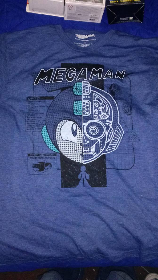 Mega Man t-shirt by Don-Shazz