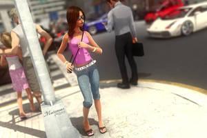 Big City Girl by mattymanx
