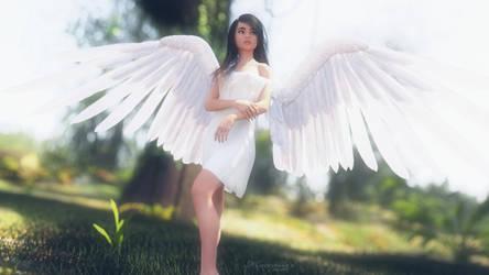 Angelic Beauty 4 by mattymanx