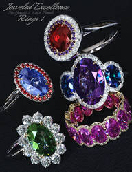 Jeweled Excellence Rings 1 for G2 3 and 8 Females by mattymanx