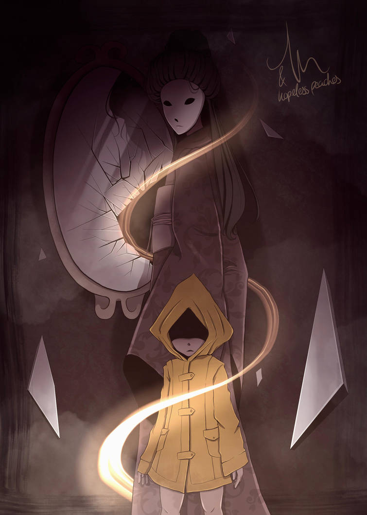 Little Nightmares | The Lady and the Prey COLLAB by HopelessPeaches