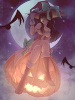 Halloween Pink Witch   Redraw + Speedpaint by HopelessPeaches
