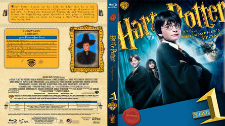 Harry Potter Bluray covers by cragman69