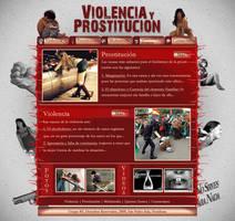 Template Web Violencia by josuemz