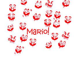 Mario Wallpaper by LoveandCake