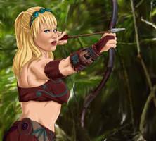 the first arrow by DragonXborne