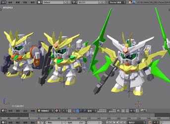 Winning Gundam Series by wingsyo
