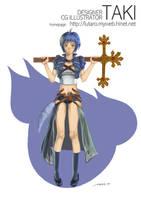 girl in RPG for pastor by killerTAKI