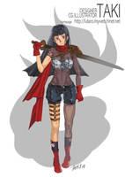 girl in RPG for swordman by killerTAKI