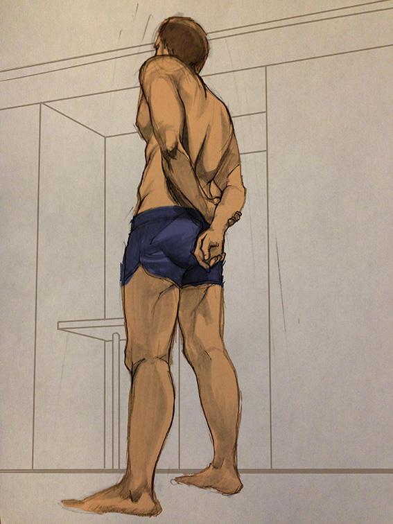 Figure drawing by killerTAKI