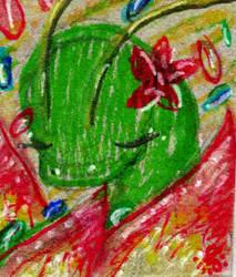 Meganium used petal dance... by goatsarecute