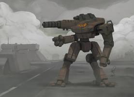 Battletech Hollander by shinypants