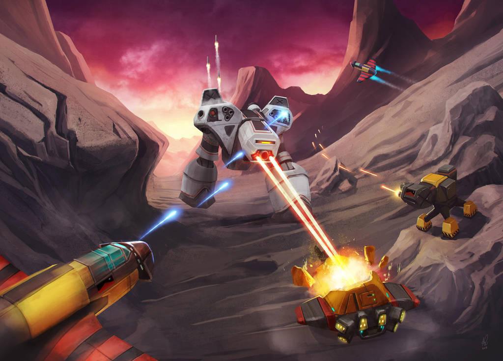Battlezone 98 Commission by shinypants