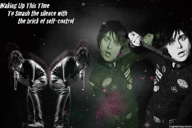 Green Day:Billie Joe Armstrong - Smash The Silence by aprilraindelain