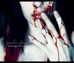 _it was written in blood. by josefinejonssonphoto
