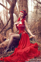 _Red diamond. by josefinejonssonphoto