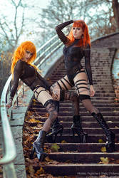 _Psylocke x shelly III. by josefinejonssonphoto