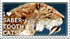 I love Saber-toothed Cats by WishmasterAlchemist
