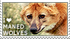 I love Maned Wolves by WishmasterAlchemist