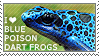 I love Blue Poison Dart Frogs by WishmasterAlchemist
