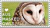 I love Australian Masked Owls by WishmasterAlchemist
