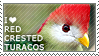 I love Red-crested Turacos by WishmasterAlchemist