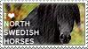 I love North Swedish Horses by WishmasterAlchemist