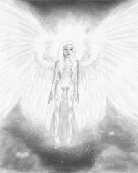 As An Angel She Realized Why... by Pyramiddhead