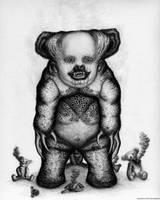 Benjamin The Nightmare Bear by Pyramiddhead