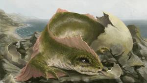 Dragon hachling by m-hugo