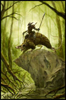 Swamp-Grat Rider by m-hugo