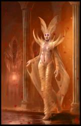 High Priestess by m-hugo