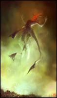 A demon is born... by m-hugo