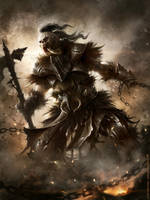 Time-Forgotten Warlord by m-hugo