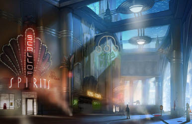 BioShock Infinite: Market Street Progression 3/3 by RadicalEdward2