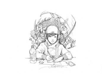 Sketch Time by ItsBirdyArt