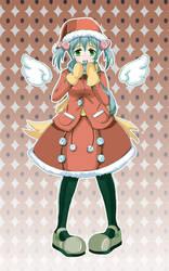 Anime xmas by chamoth143